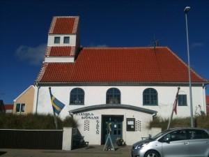 Den Svenske Sømandskirke set fra gaden