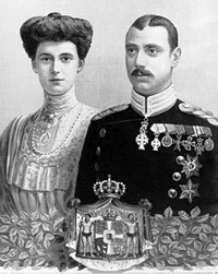 Kong Christian 10. og Dronning Alexandrine