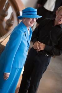 Dronning Margrethe besøger Skagen kirke