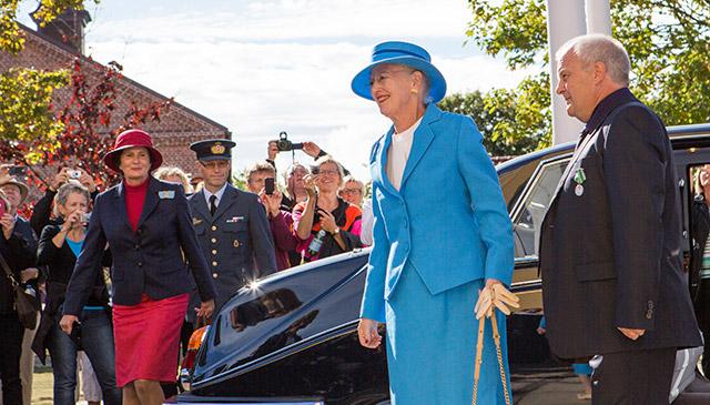 Dronning Magrethe i Skagen